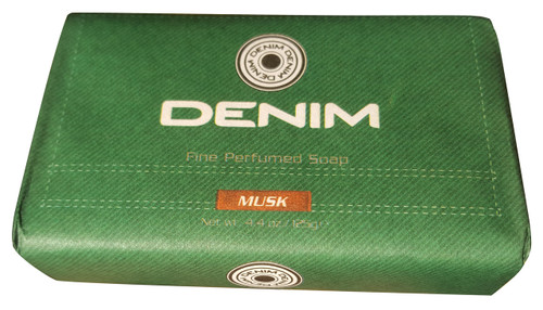 Denim Fine Perfumed Soap Musk 125g best soap buy online in pakistan