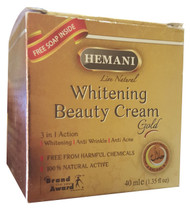 Hemani Whitening Beauty Cream Gold 40ml Free Whitening Beauty Soap buy online in pakistan