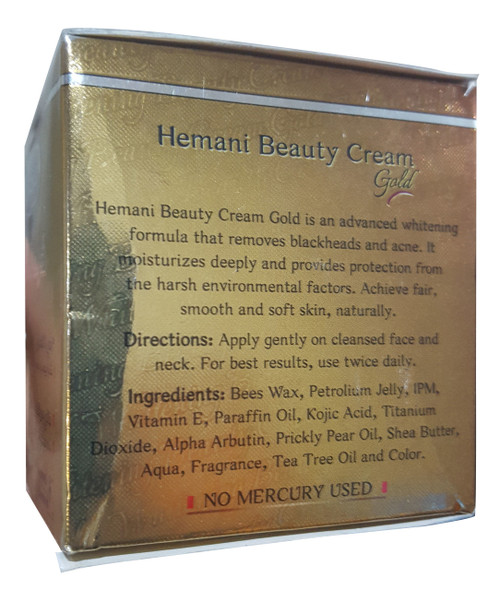 Hemani Whitening Beauty Cream Gold 40ml Free Whitening Beauty Soap original product