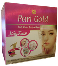 Pari Gold 3in1 Wash Scrub Mask Whitening Facial buy online in pakistan