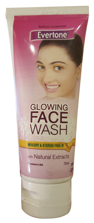 Evertone Glowing Face Wash With Natural Extracts 75ml buy online in pakistan