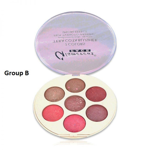 Glamorous Face 7 Color Tera Cotta Blush On - Group B Buy online in Pakistan on Saloni.pk