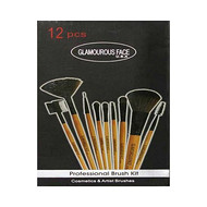 Glamorous Face Professional Leather Makeup Brush Kits buy online in pakistan