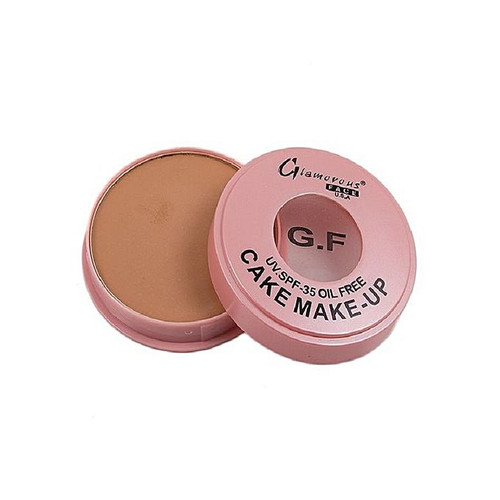 Glamorous Face Oil Free Dry Cake Brown best shade