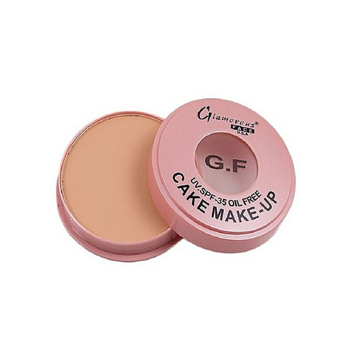 Glamorous Face Oil Free Dry Cake Beige Brown best shade