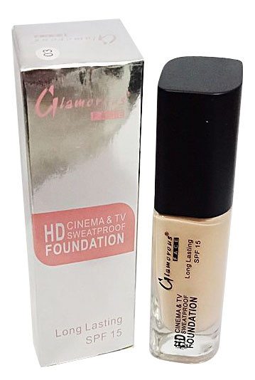 Glamorous Face HD Foundation Sweat Proof Shade 3 buy online in pakistan
