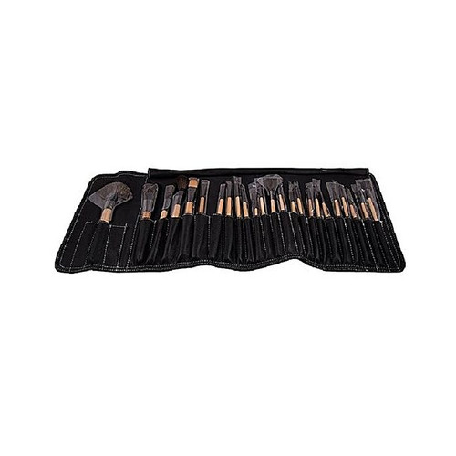 Glamorous Face Professional Leather Makeup Brush Kits 24 Pieces buy online in pakistan