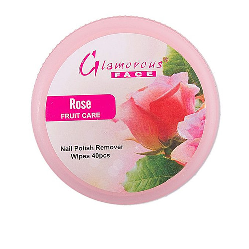 Glamorous Face Nail Remover Tissues Rose Lowest Price on Saloni.pk