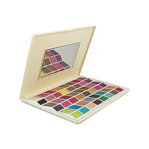 Glamorous Face 48+48 Color Matt+Makhmally Eye Palette Lowest price on Saloni.pk