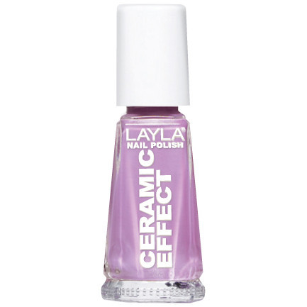 Layla Ceramic Effect Nail Polish CE 4 Lilac You buy online in pakistan
