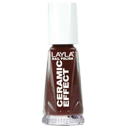 Layla Ceramic Effect Nail Polish CE 8 Torrid Red buy online in pakistan