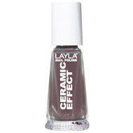 Layla Ceramic Effect Nail Polish CE 12 Elegant Mud buy online in pakistan