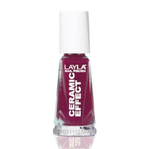 Layla Ceramic Effect Nail Polish CE 23 Wine Desire buy online in pakistan