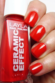Layla Ceramic Effect Nail Polish CE 45 Coral Bay buy online in pakistan