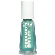 Layla Ceramic Effect Nail Polish CE 73 Vibrant Blue buy online in pakistan