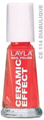 Layla Ceramic Effect Nail Polish CE 114 Diabulique buy online in pakistan
