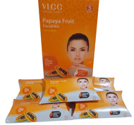 VLCC Salon Series Papaya Fruit Facial Kit 5 Session buy online in pakistan