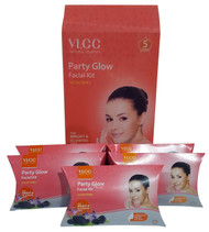 VLCC Salon Series Party Glow Facial Kit 5 Session buy online in pakistan