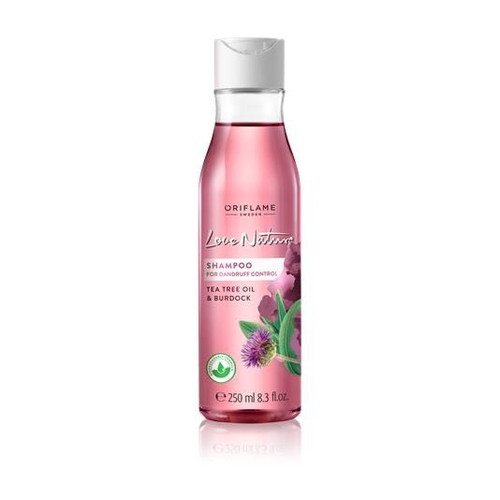 Oriflame Love Nature Shampoo For Dandruff Control Tea Tree Oil & Burdock 250 ML buy online in pakistan