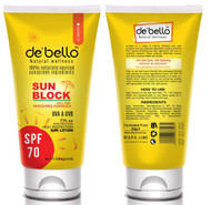 De'Bello Sun Block Lotion Spf 70 150 ML buy online in pakistan