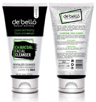 De'Bello Charcoal Facial Cleanser 150 ML buy online in pakistan