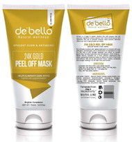 De'Bello 24K Gold Peel Off Mask 150 Ml buy online in pakistan