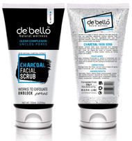 De'Bello Charcoal Facial Scrub 150 ML buy online in pakistan