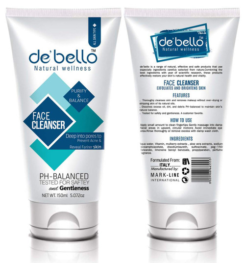 De'Bello Face Cleanser 150 ML buy online in pakistan