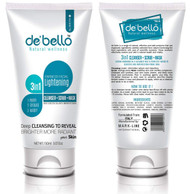 De'Bello 3in1 Facial Lightening Cleanser+Scrub+ Mask 150 ML buy online in pakistan