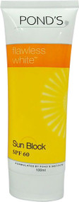 Pond's Flawless White Sun Block SPF 60 100 ML buy online in pakistan