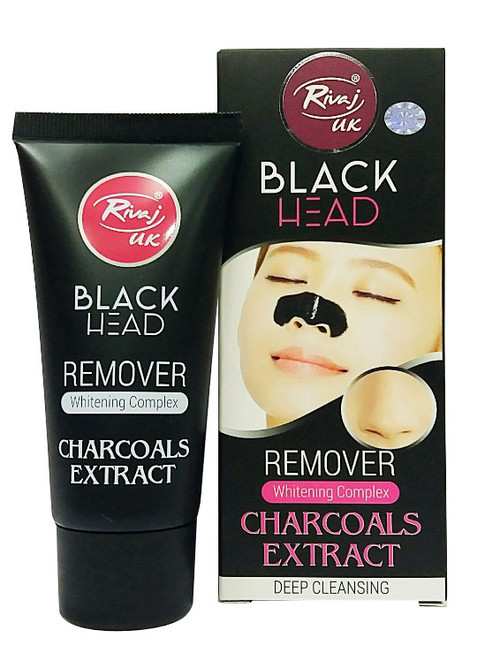Rivaj UK Black Head Remover Whitening Complex Charcoal Extract buy online in pakistan