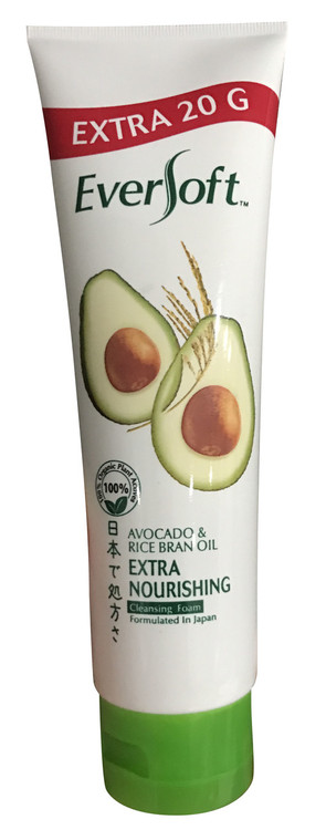Ever Soft Avocado & Rice Bran Oil Extra Nourishing Cleansing Foam Extra 20 G buy online in Pakistan