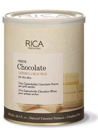 Rica White Chocolate Lipo Soluble Wax For Dry Skin 800 ML buy online in Pakistan