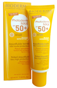 Bioderma Photoderm MAX Aquafluide Teinte Claire SPF50+ (40ML) best sunblock in pakistan