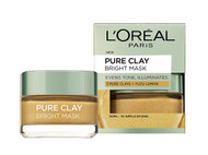 L'Oreal Paris Pure Clay Yuzu Lemon Mask - Brightening Yellow 50ml buy online in pakistan