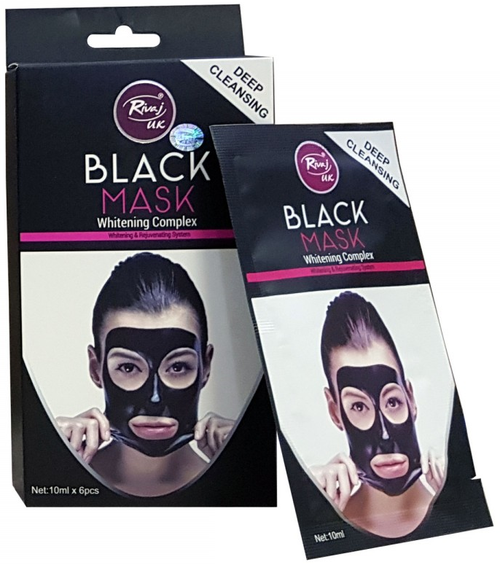 Rivaj Uk Deep Cleansing Black Mask (10ml x 6) White Complex buy online in pakistan