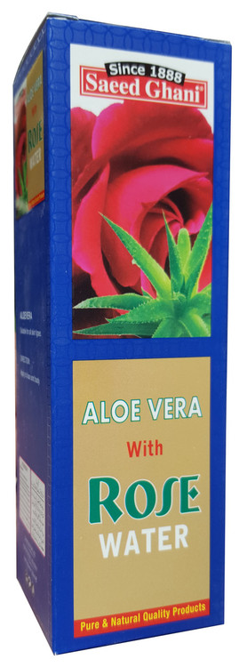 Saeed Ghani Aloe Vera with Rose Water 120ml Buy Online in Pakistan