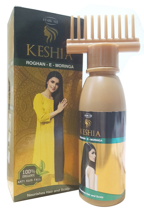 HairCare Keshia Roghan-E-Moringa Organic Hair Oil 120ML buy online in pakistan