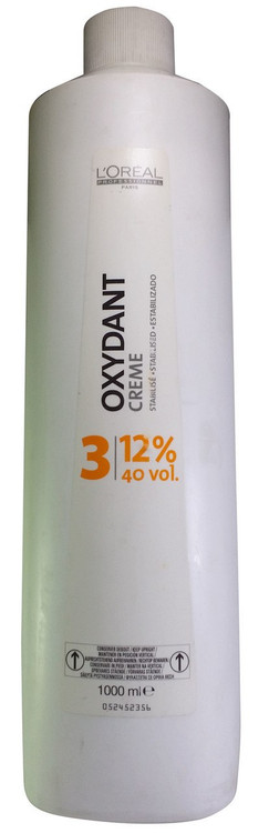 L'oreal Professionnel Oxydant Cream 3 (12% 40 vol) 1000ML