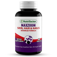 Nutrifactor Maxzoom Hair, Skin & Nails Formula 60 Tablets