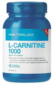 GNC Total Lean L-Carnitine 1000 (60 Tablets)