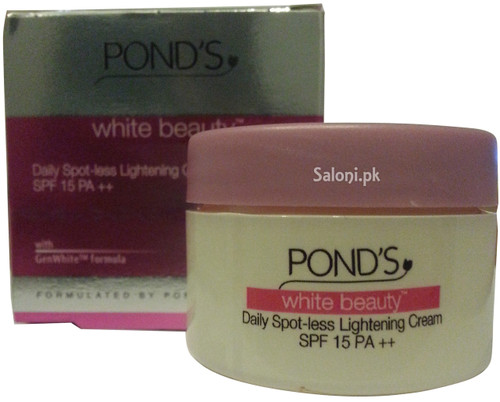 Pond's White Beauty Daily Spot-Less Lightening Cream SPF 15 PA ++ Front