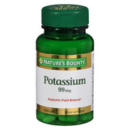 Nature's Bounty Potassium 99mg (100 Caplets)