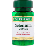 Nature's Bounty Selenium 200mcg (100 Tablets)