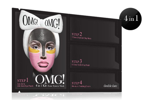 DOUBLE DARE - OMG! 4IN1 KIT Zone System Mask