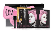 DOUBLE DARE - OMG! Premium Package Pink (4MASK, 1HAIR BAND, 1 BRUSH) buy online in pakistan