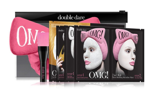 OMG! Premium Package Hot Pink (4MASK, 1HAIR BAND, 1 BRUSH)
