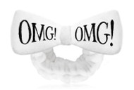DOUBLE DARE - OMG! MEGA HAIR BAND-WHITE