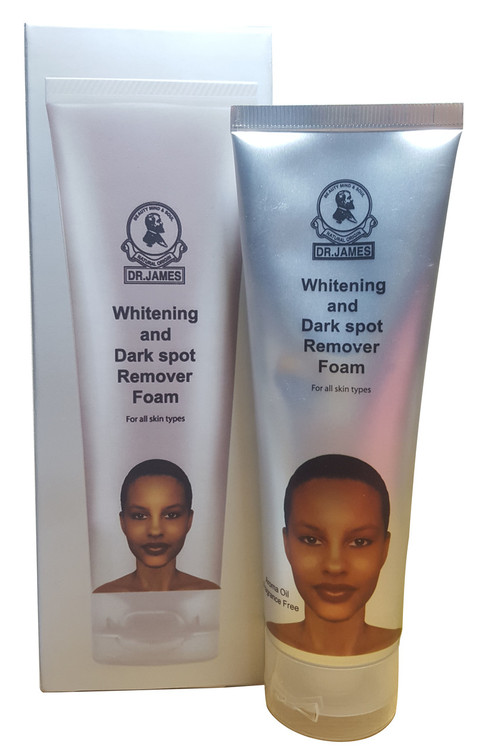 Dr. James Whitening & Dark Spot Remover Foam 100g buy online in pakistan