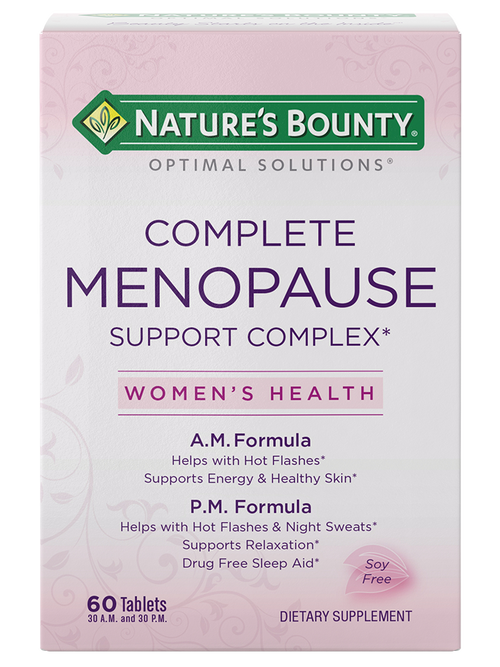 Nature's Bounty Complete Menopause Support Complex 60 Tablets